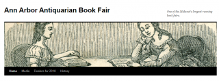 Ann Arbor Antiquarian Book Fair