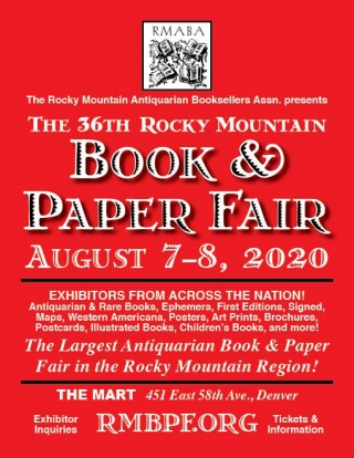 36th Annual Rocky Mountain Book and Paper Fair