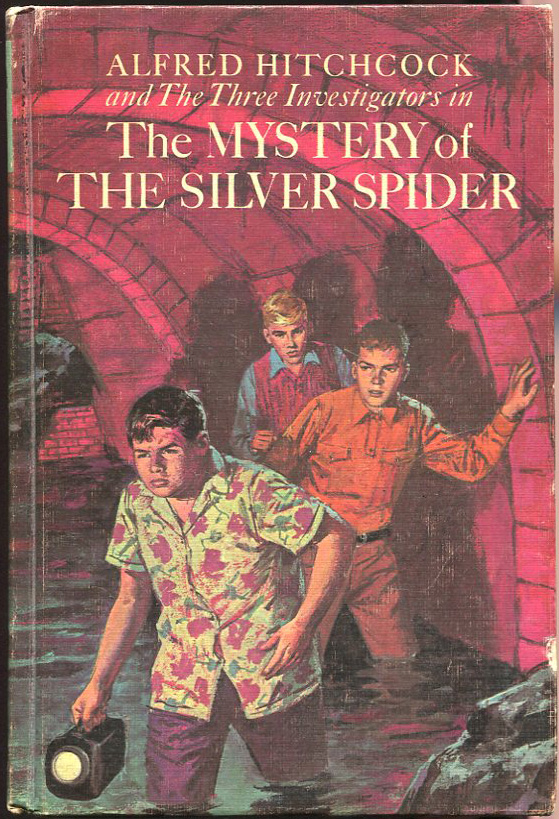 The Mystery of the Silver Spider. Robert Arthur.