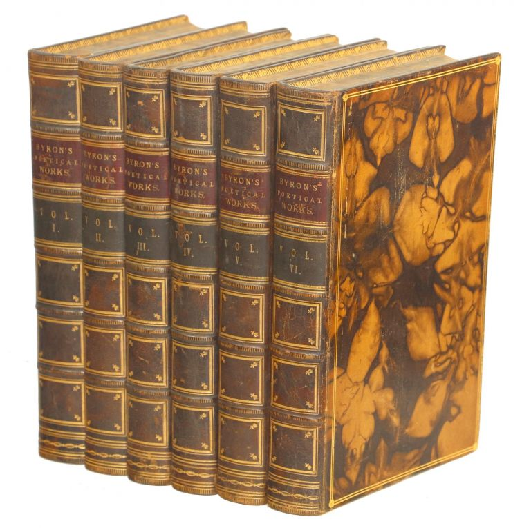 The Poetical Works of Lord Byron. Byron, ron.