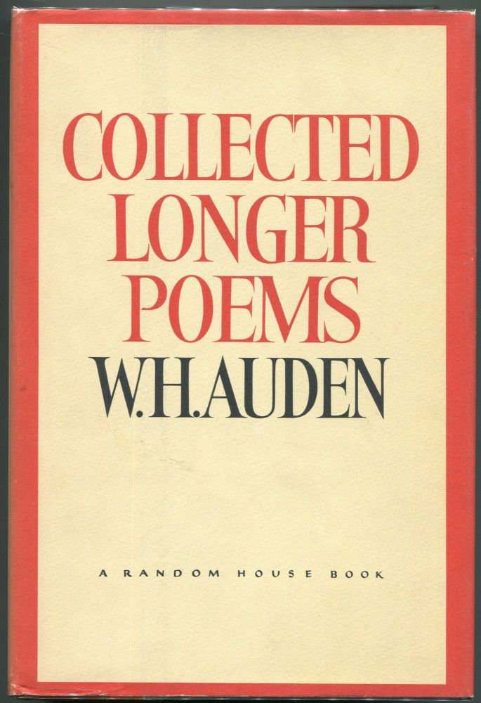Collected Longer Poems By W H Auden On Evening Star Books