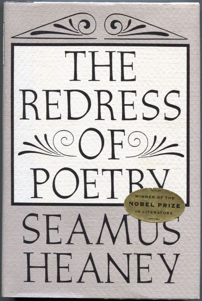 The Redress of Poetry. Seamus Heaney.