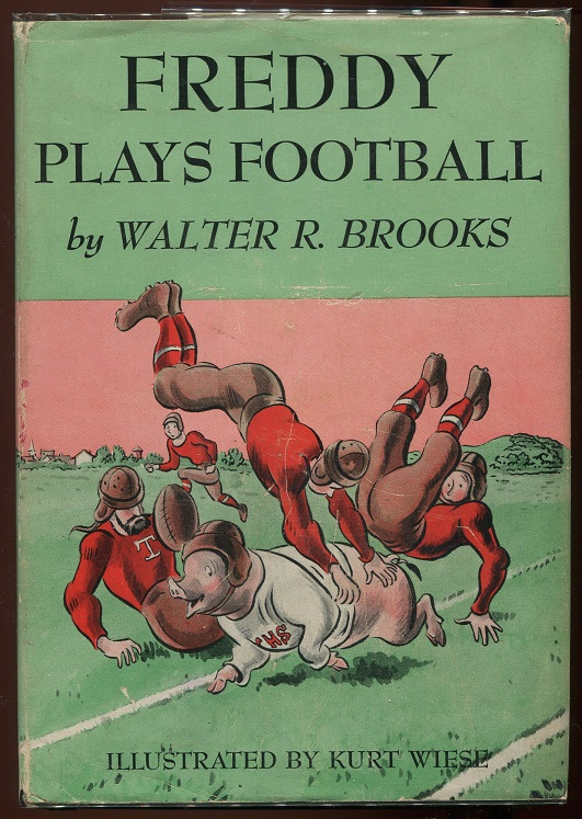 Freddy Plays Football. Walter R. Brooks.