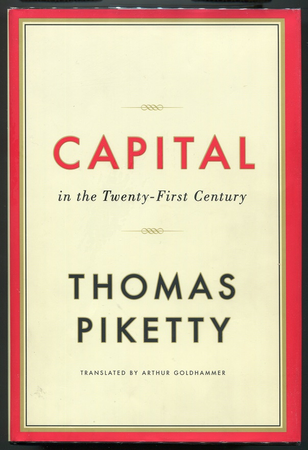 Capital in the Twenty-First Century. Thomas Piketty.