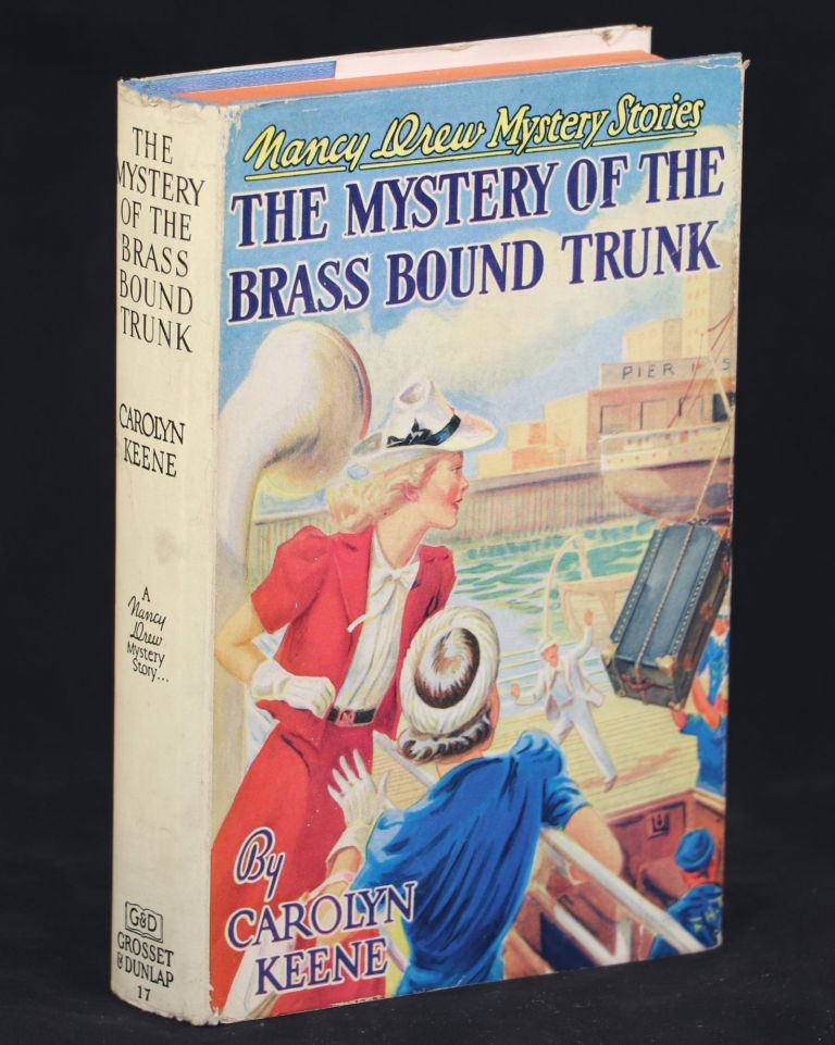 The Mystery of the Brass Bound Trunk. Carolyn Keene.