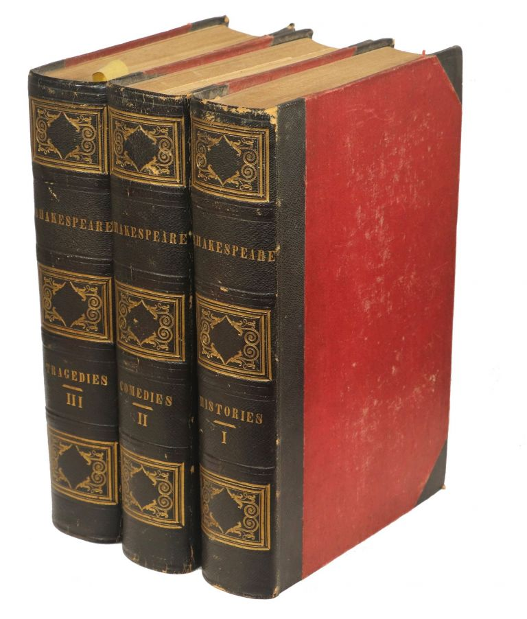 Shakespeare's Plays: With His Life.; Edited by Gulian C. Verplanck With Critical Introductions, Notes, etc. Original and Selected. William Shakespeare.