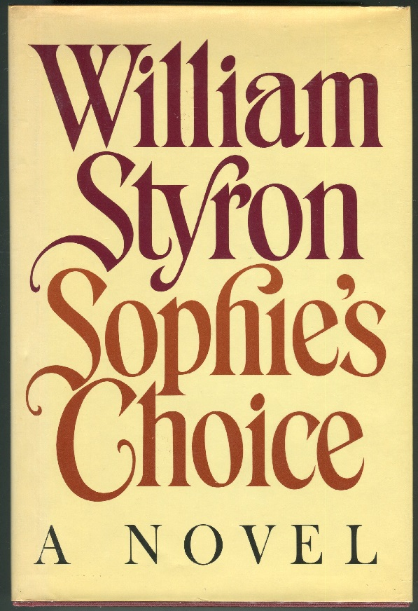 Sophie's Choice. William Styron.
