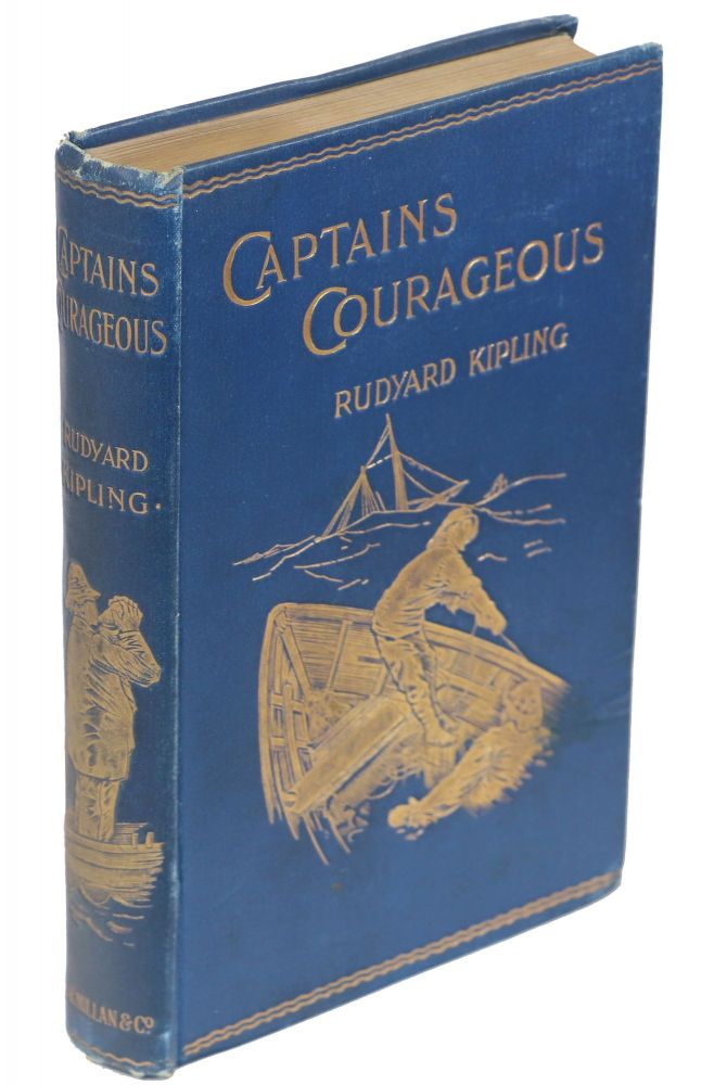 Captains Courageous'; A Story of the Grand Banks. Rudyard Kipling.