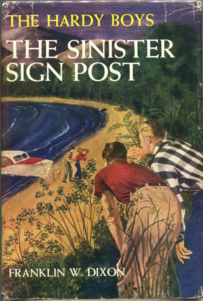 The Sinister Sign Post. Franklin W. Dixon.