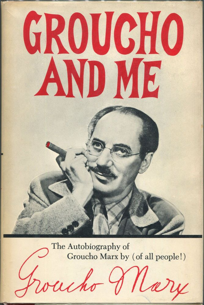 Groucho and Me. Groucho Marx.