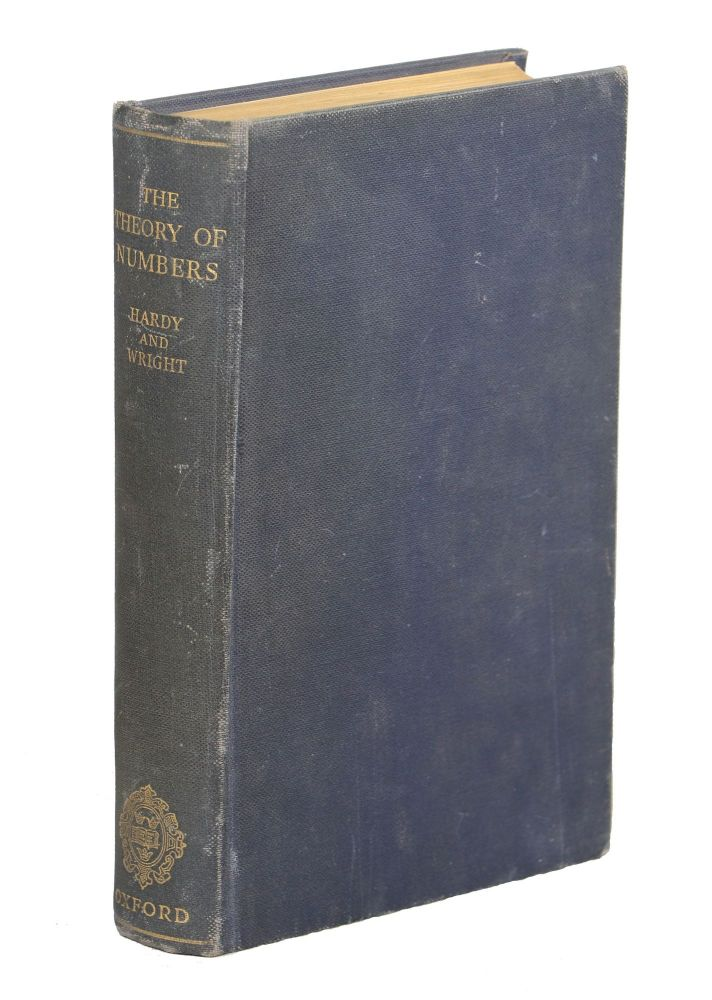The Theory of Numbers. G. H. Hardy, E. M. Wright.