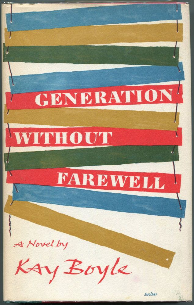 Generation without Farewell. Kay Boyle.