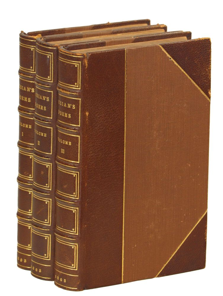 The Poems of Ossian, Translated by James Macpherson, Esq. Ossian, James Macpherson Esq, Tr.