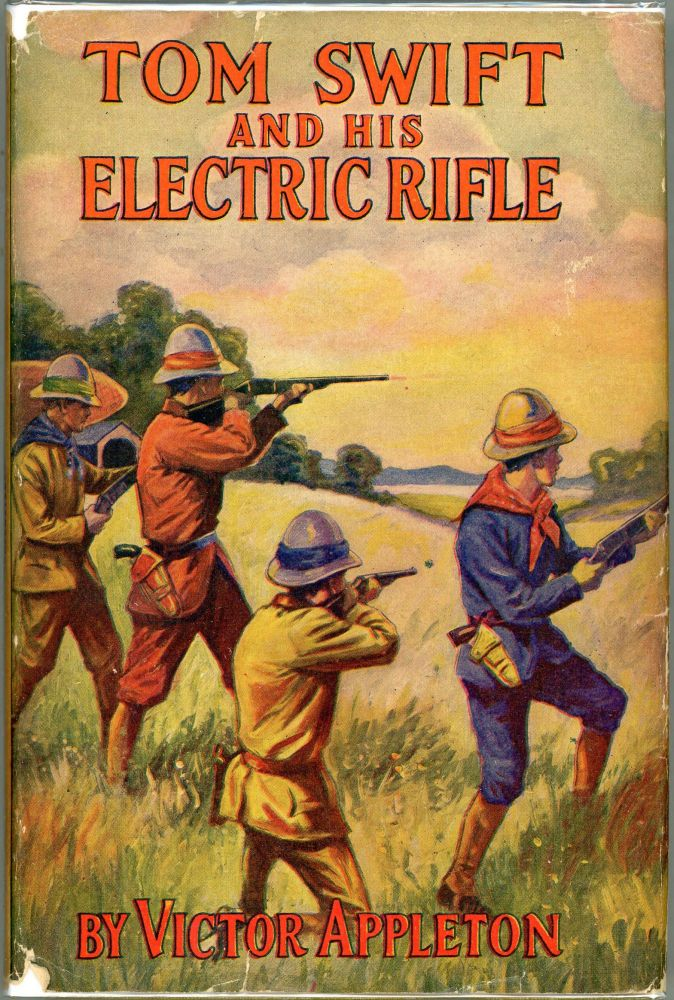 Tom Swift and His Electric Rifle; Or Daring Adventures in Elephant Land. Victor Appleton.