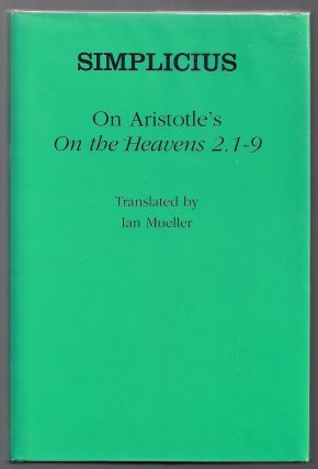 "On Aristotle's ""On the Heavens 2.1-9"" Simplicius"