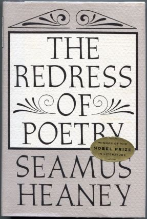 The Redress of Poetry. Seamus Heaney