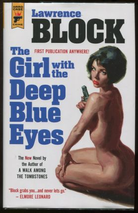 The Girl with the Deep Blue Eyes. Lawrence Block.