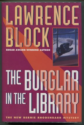 The Burglar in the Library. Lawrence Block.