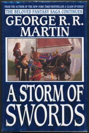 A Storm of Swords. George R. R. Martin.