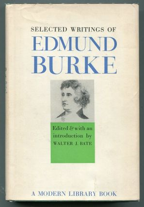 Selected Works. Edmund Burke