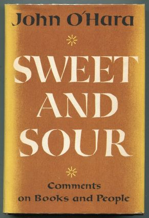 Sweet and Sour. John O'Hara