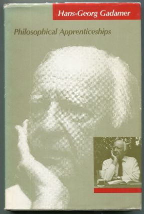 Philosophical Apprenticeships. Hans-Georg Gadamer
