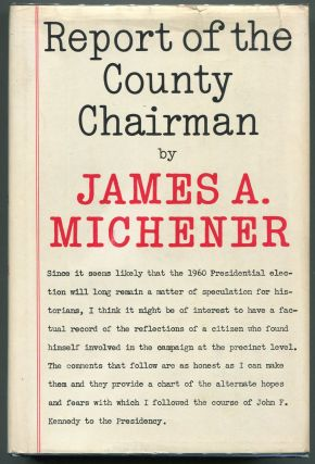 Report of the County Chairman. James A. Michener