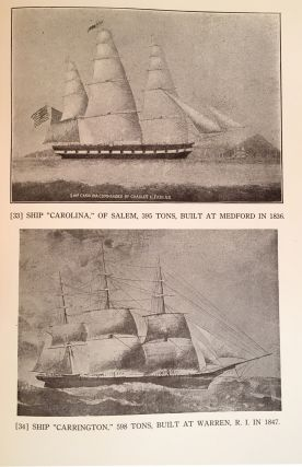 The Sailing Ships of New England 1607-1907