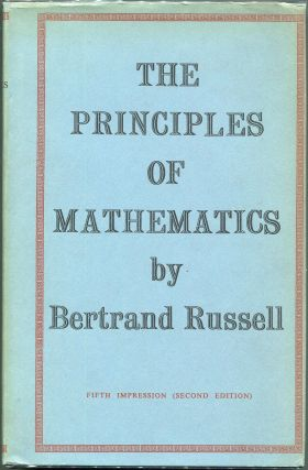 The Principles of Mathematics. Bertrand Russell