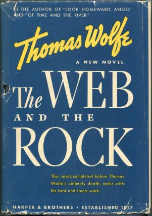 The Web and the Rock. Thomas Wolfe