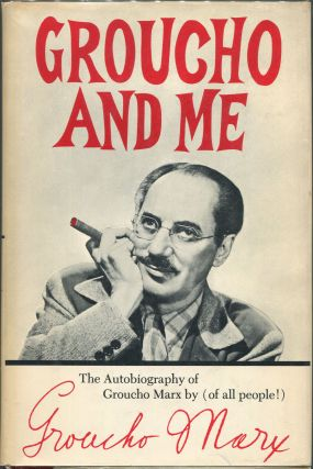 Groucho and Me. Groucho Marx