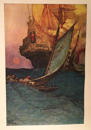 Howard Pyle's Book of Pirates; Fiction, Fact, & Fancy concerning the Buccaneers & Marooners of the Spanish Main: From the writing & Pictures of Howard Pyle: Compiled by Merle Johnson