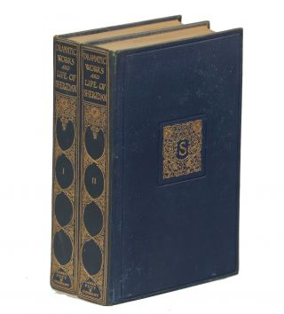 The Dramatic Works of Richard Brinsley Sheridan; With a Short Account of His Life. Richard...