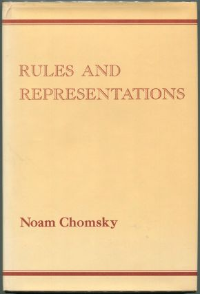 Rules and Representations. Noam Chomsky