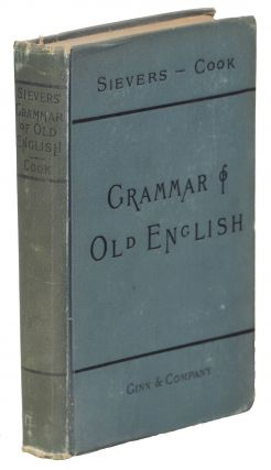 An Old English Grammar. Eduard Sievers