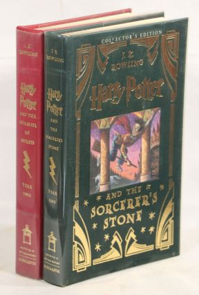 Harry Potter and the Sorcerer's Stone; Harry Potter and the Chamber of Secrets. J. K. Rowling