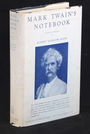 Mark Twain's Notebook. Mark Twain, Albert Bigelow Paine, Samuel L. Clemens, Ed