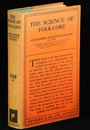 The Science of Folk-Lore. Alexander Haggerty Krappe