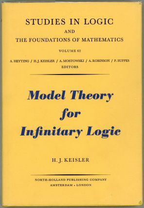 Model Theory for Infinitary Logic; Logic with Countable Conjunctions and Finite Quantifiers. H....