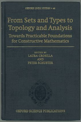 From Sets and Types to Topology and Analysis; Towards Practicable Foundations for Constructive...
